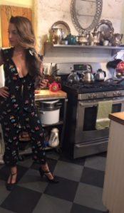 #SetLife Sarah Moliski in Kitchen Scene #OutOfStateAGothicRomance