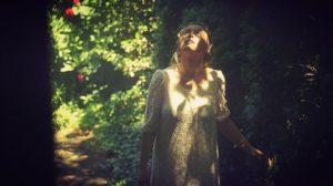#SetLife Sarah Moliski in Secret Garden Scene in #OutOfStateAGothicRomance